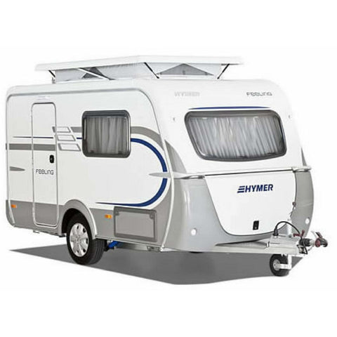 Image of WALKER Weekender with Alloy Frame for Eriba Feeling (2018) + Free Storm Straps - Quality Caravan Awnings