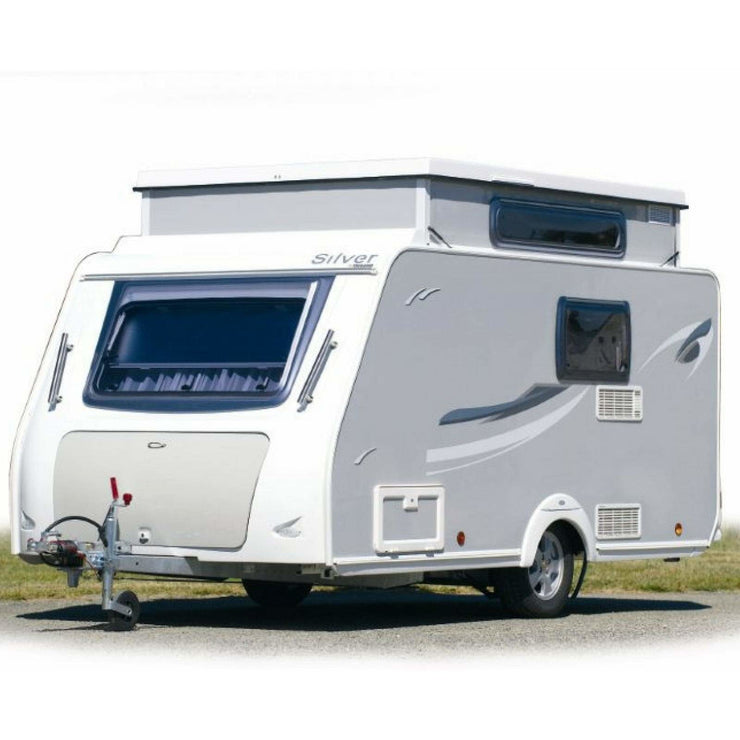WALKER Pioneer 240 All Season for Trigano Silver (2018) + FREE Storm Straps - Quality Caravan Awnings