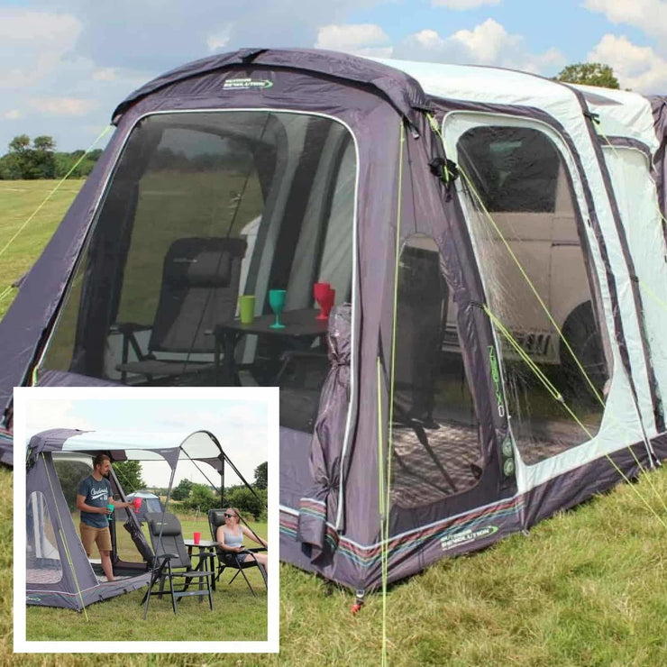 Outdoor Revolution Movelite T2 Highline Driveaway Awning + FREE Canopy made by Outdoor Revolution. A Campervan Awning sold by Quality Caravan Awnings