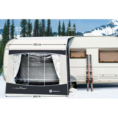 Image of Walker Snow & Fun Plus Winter Caravan Porch Awning (2018) - Quality Caravan Awnings