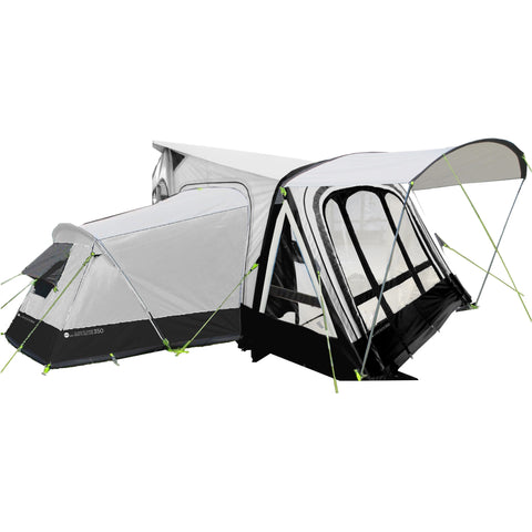Image of Crusader Climate Zone Air 350 Deluxe Inflatable Caravan Awning made by Crusader. A Air Awning sold by Quality Caravan Awnings