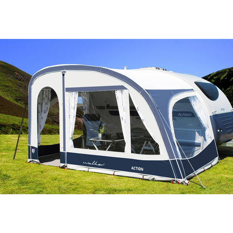 Image of Walker Adria Action 361 Caravan Awning (2018) + Free Storm Straps - Quality Caravan Awnings