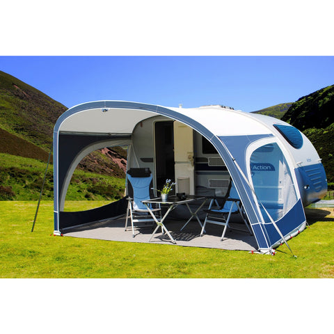 Image of Walker Adria Action Caravan Awning (2018) + Free Storm Straps - Quality Caravan Awnings
