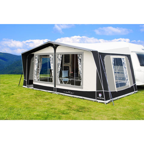 Walker Allure 280 Caravan Awning (2018) + Free Storm Straps - Quality Caravan Awnings