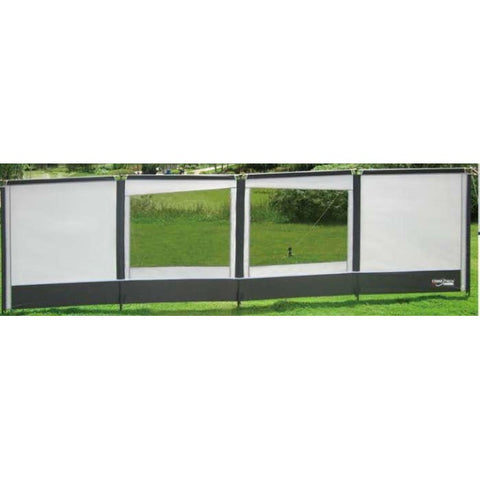 Camptech Carnival Windbreak Standard - 2 Windows SL521-A (2019) made by CampTech. A Accessories sold by Quality Caravan Awnings