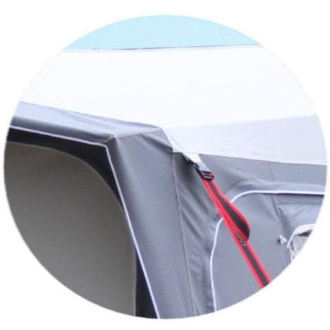 Image of Camptech Cayman Grey Touring Caravan Awning + FREE Storm Straps (2019) made by CampTech. A Caravan Awning sold by Quality Caravan Awnings