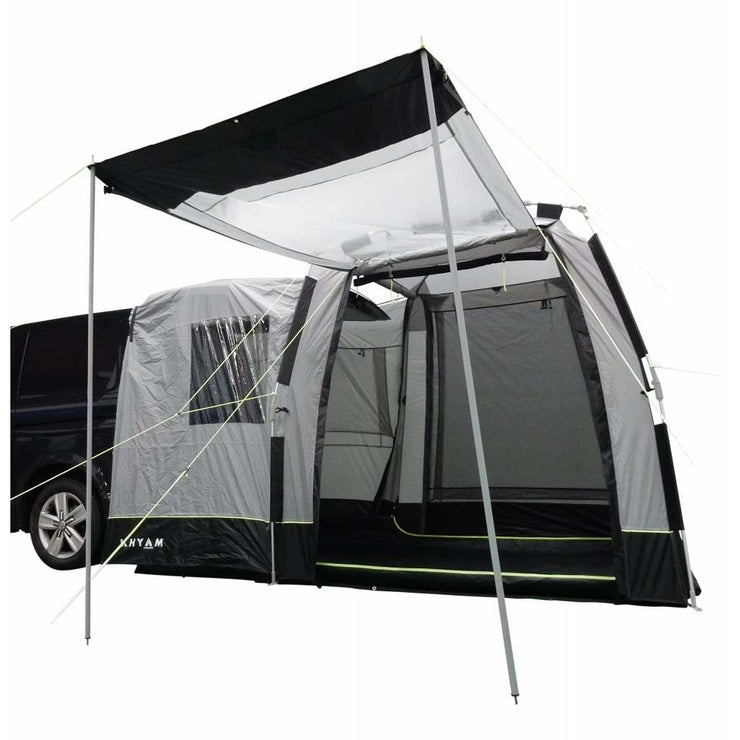 Khyam Motordome Tailgate XL Driveaway Awning 110307 made by Khyam. A Drive-away Awning sold by Quality Caravan Awnings