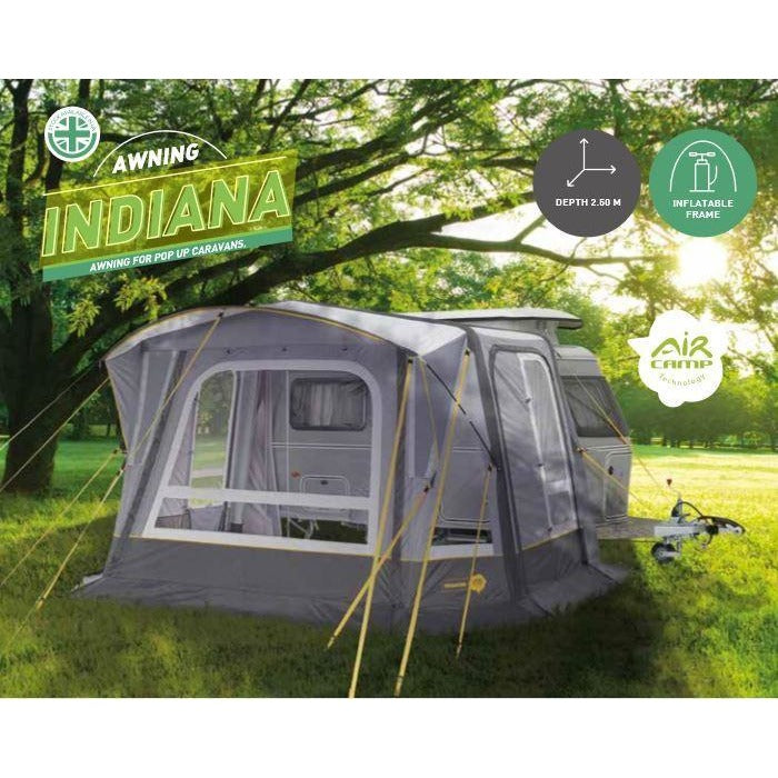 Trigano (Eurovent) Indiana Inflatable Caravan Awning - Quality Caravan Awnings