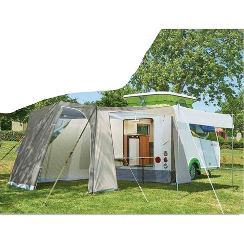 Trigano Mini Silver Caravan Awning for Pop Up Caravans (2019)