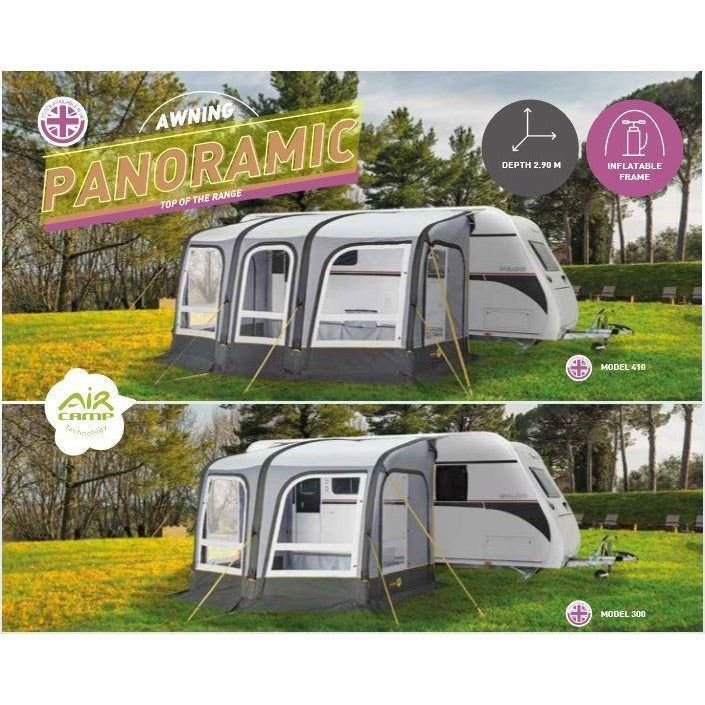 Trigano Panoramic Air/Inflatable Caravan Awning - Quality Caravan Awnings