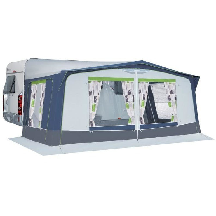 Trigano Sicile 270 (Steel/Fiberglass) Caravan Awning + FREE Storm Straps - Quality Caravan Awnings