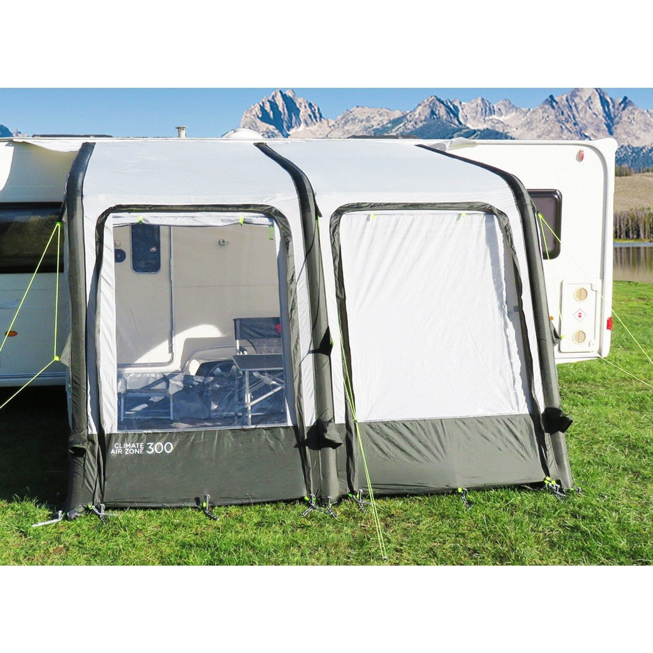 Crusader Climate Air Zone 300 Inflatable V911 Awning