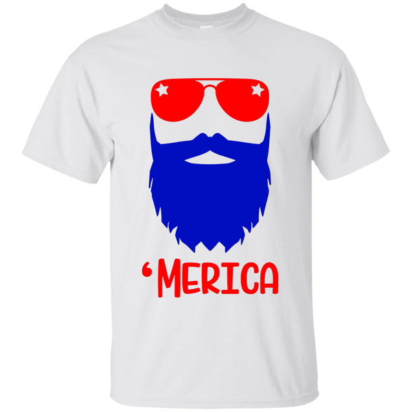 4th of July Beard- Tee