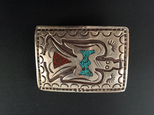 Navajo Peyote Bird Buckle
