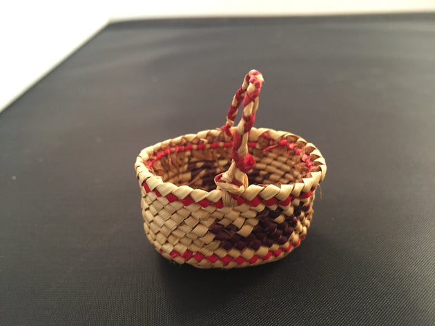 Mini Makah Basket
