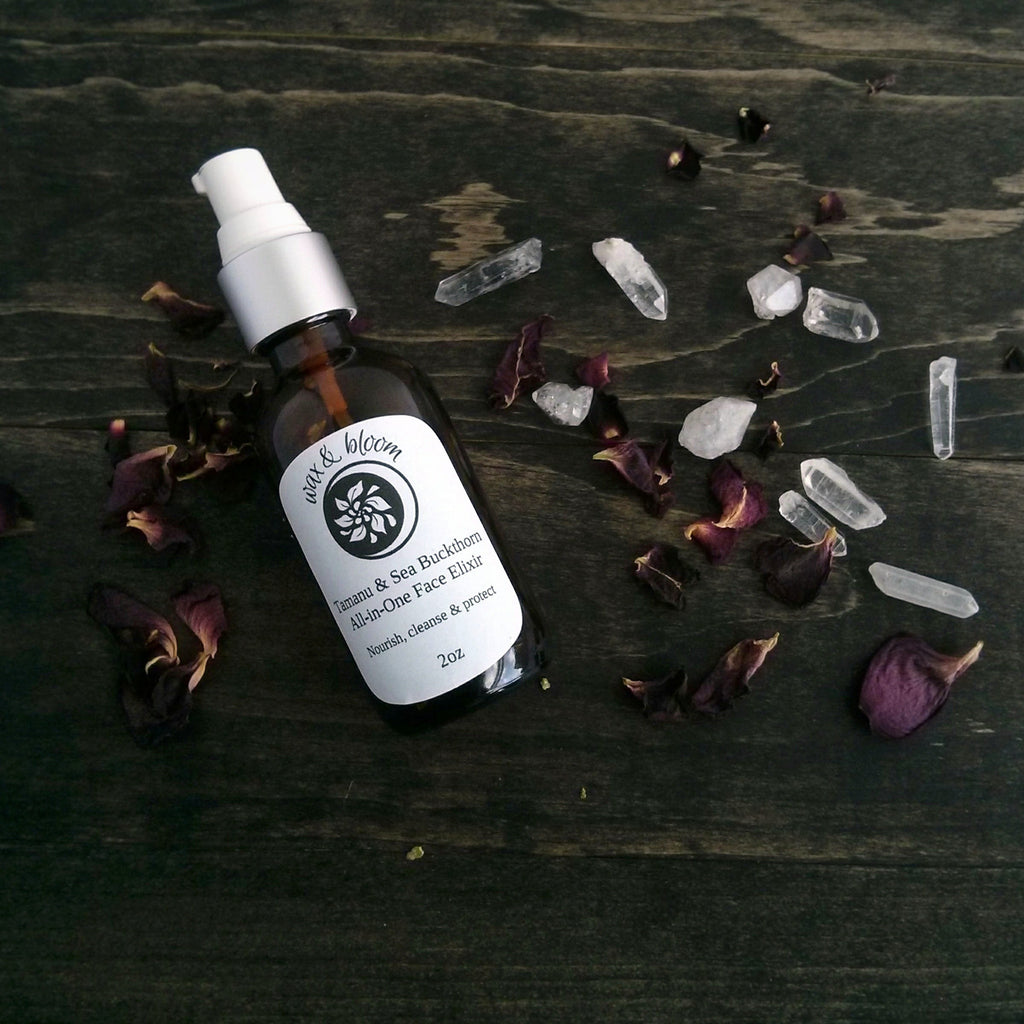 Tamanu & Sea Buckthorn Face Elixir