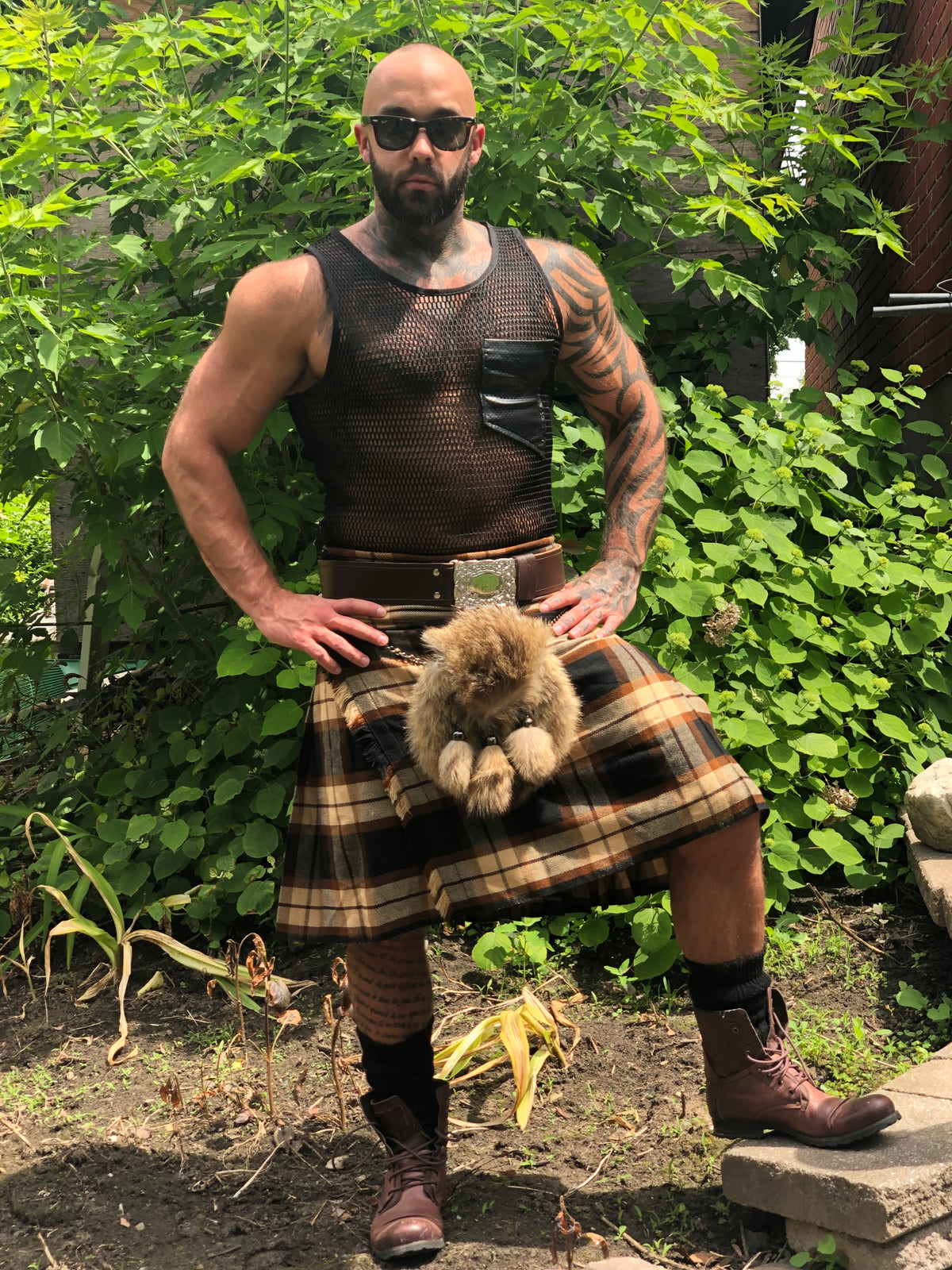 Rose Ancient Tartan Kilt