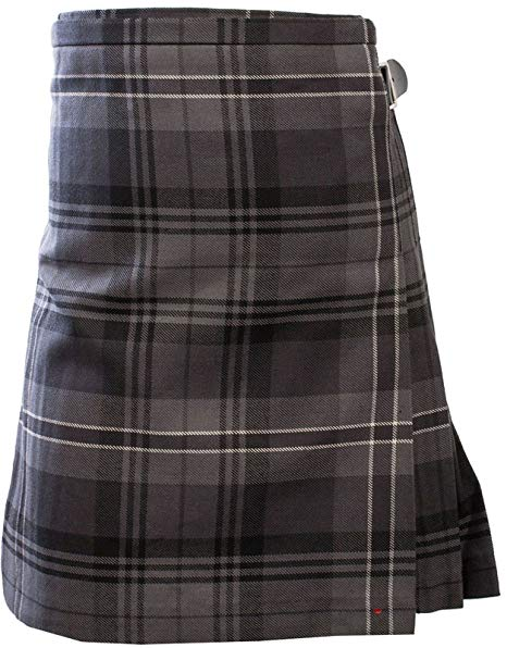 Hamilton Grey (Fall/Winter weight) Tartan Kilt