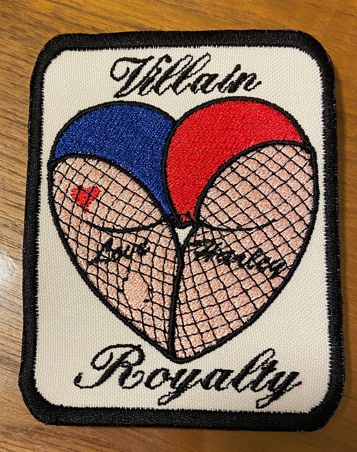 Harley Quinn Villain Royalty Patch