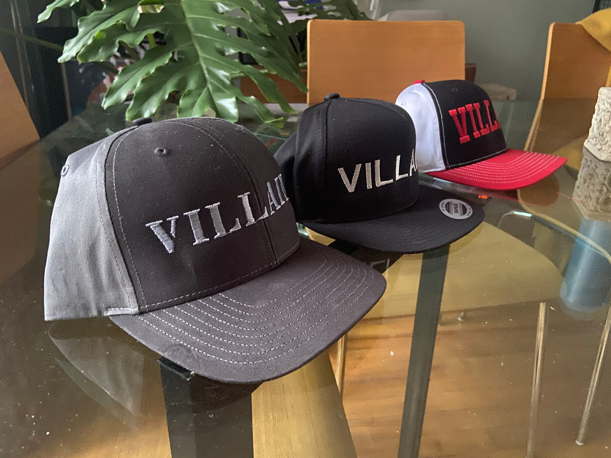 Villain Snapback Ball Caps