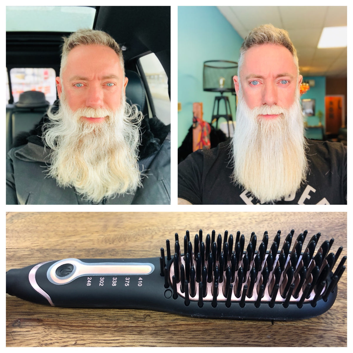 Heated Beard Straightener