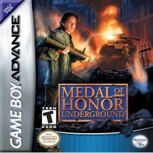 Used-Medal of Honor Underground   (Cartridge Only)