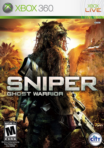 Used-Sniper Ghost Warrior