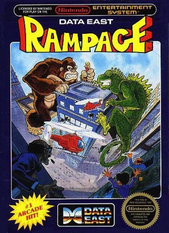 Used-Rampage NES (Cartridge Only)