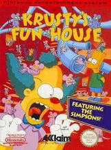 Used-Krusty's Funhouse NES (Cartridge Only)