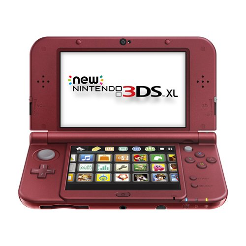 Used-The New Nintendo 3DS XL: Red (2015)