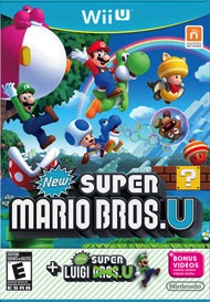 Used-Super Mario Bros. U with Super Luigi U