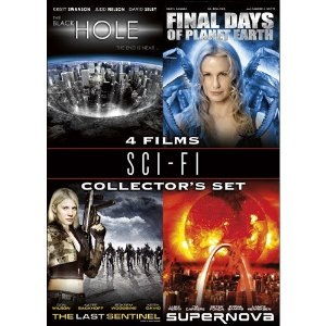 Used-Sci-Fi Collectors Set: The Black Hole/Final Days of Planet Earth/The Last Sentinel/Supernova