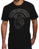Sons of Anarchy-Distressed Patch T-Shirt