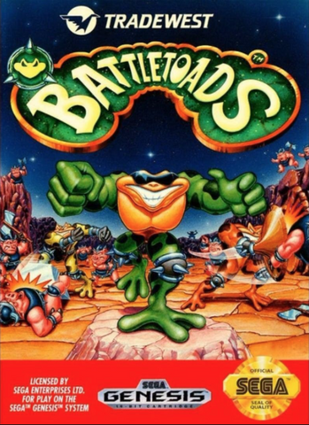 Used-Battletoads (Cartridge Only)