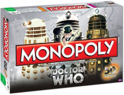 Doctor Who Monopoly 50th Anniversary Collector's Edition