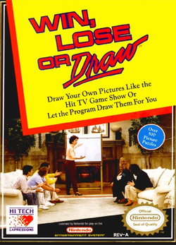 Used-Win, Lose or Draw (Cartridge Only)