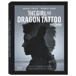 Used-The Girl with the Dragon Tattoo BluRay+DVD Combo Pack (2011)