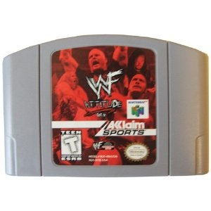 Used-WWF Attitude N64 Cartridge Only