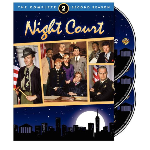Used-Night Court-Complete Second Season