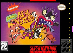 Used-Nickelodeon: Aaahh!!! Real Monsters (Cartridge Only)