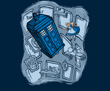 Falling (Doctor Who/Alice in Wonderland): Limited Edition Ts, no re-stocks
