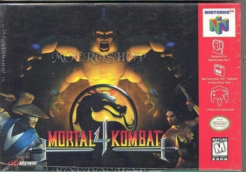 Used-Mortal Kombat 4 N64 (Cartridge Only)