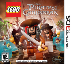 Used-LEGO: Pirates of the Caribbean (Cartridge Only)