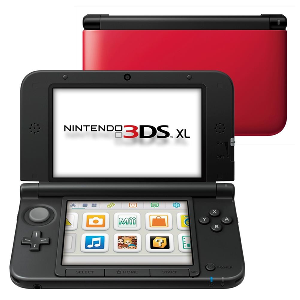 Used-Nintendo 3DS XL Red
