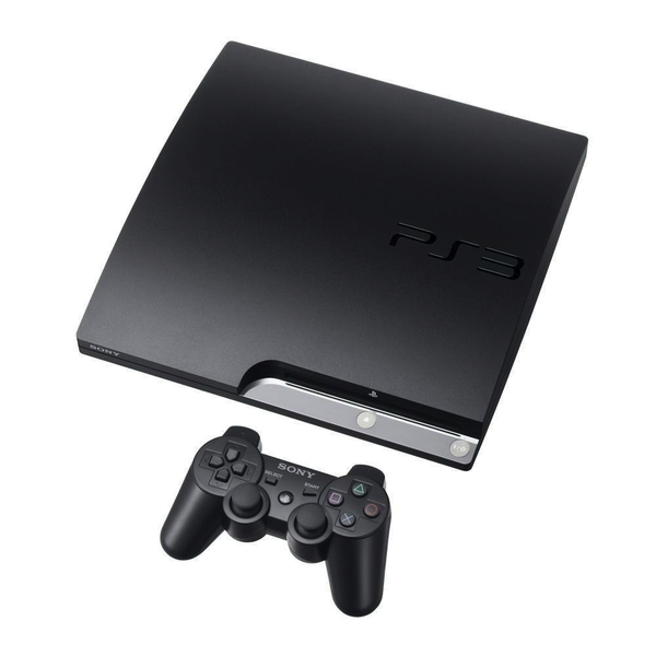 Used-Playstation 3 Slim Console 120GB
