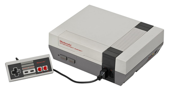 Used-Nintendo Entertainment System (NES) Console (no box)