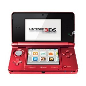 Used-Nintendo 3DS Handheld Console-Flame Red