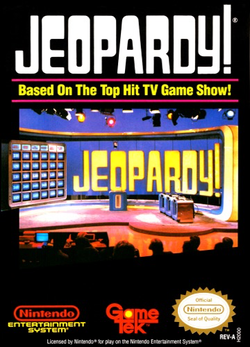 Used-Jeopardy! (Cartridge Only)