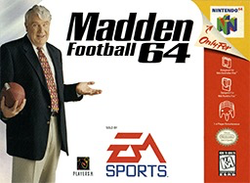 Used-Madden 64 (Cartridge Only)