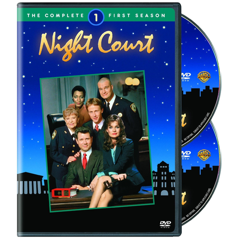 Used-Night Court-Complete First Season